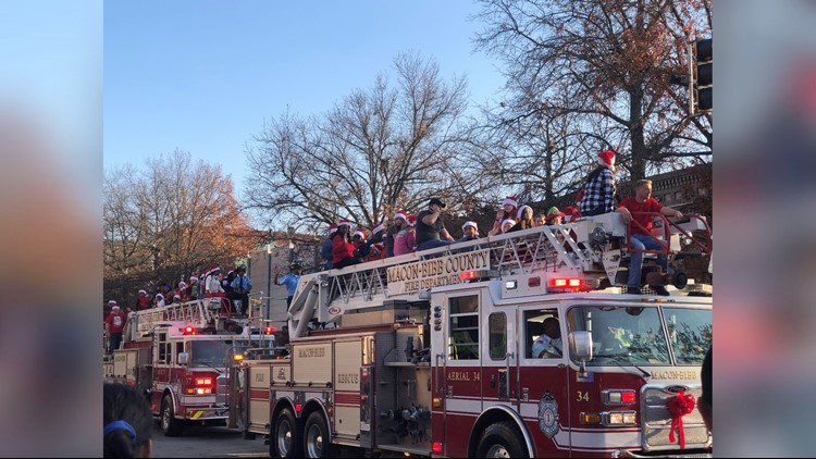 Macon's annual Christmas Parade rolls through downtown