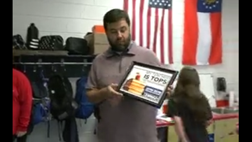 My Teacher is Tops: Rusty Owens