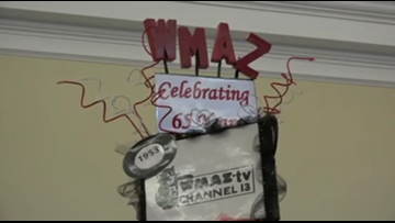 13WMAZ's history shown at the Perry Festival of Trees