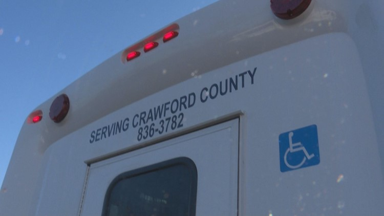 Crawford Co. launching bus service to Dublin VA for veterans