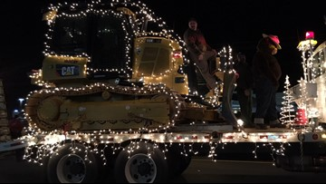 18th annual Gray Christmas Parade held