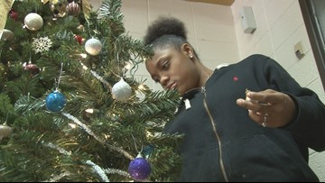 Mary Persons students collect new or used Christmas trees to light up families' homes