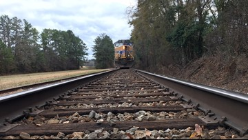 UPDATE: Two men hit, killed by train in north Macon identified