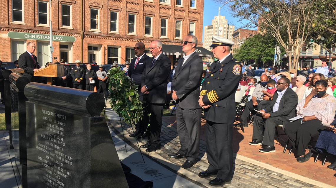 Macon-Bibb officials honor fallen officers at Peace Officers Memorial Day service