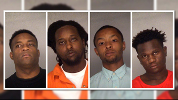 3 Macon men, 1 teen arrested on drug charges