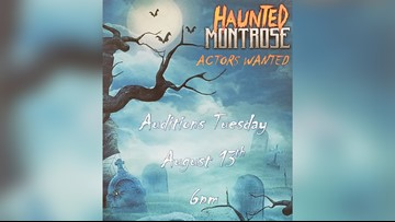 Get paid to scare people: Haunted Montrose is holding auditions
