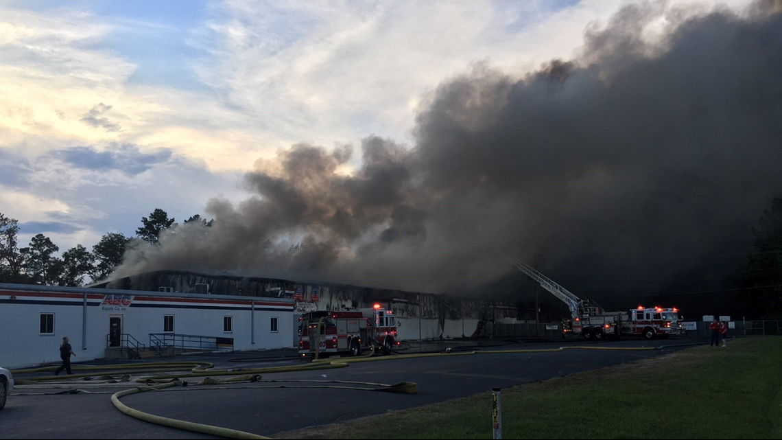 ABC Supply Plant Fire Under Control, 3 Firefighters