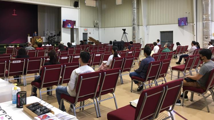 'It took faith to close the doors': Central Georgia churches work to bring people back as pandemic improves
