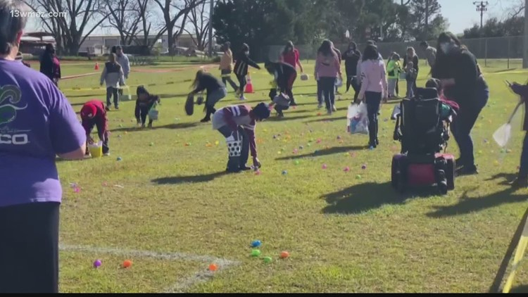'A chance to meet other families': Perry holds inclusive egg hunt for children with special needs