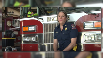 Byron's former fire chief alleges discrimination. We looked at her personnel file