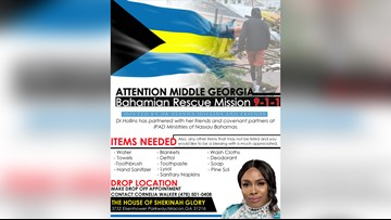 Macon minister collecting donations for Bahamas after Hurricane Dorian
