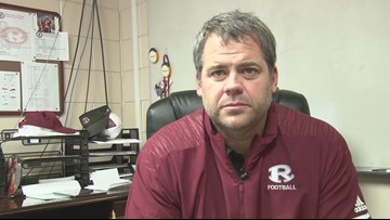 Warner Robins coach Mike Chastain explains controversial play