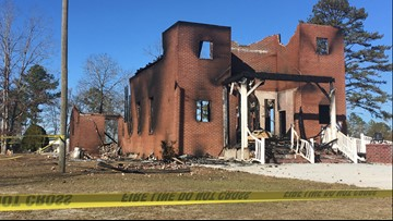 Man charged with setting Houston County church on fire