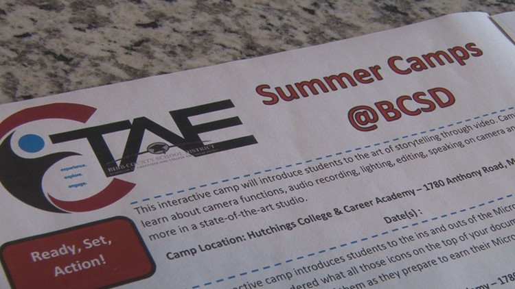 Bibb County Schools plan to offer free, in-person summer camps
