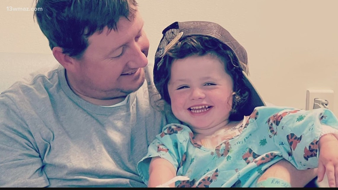 Laurens County community raising money to help 3-year-old with tumor