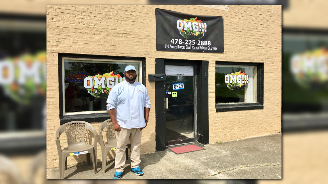 Salad restaurant opens in Warner Robins across from Robins AFB