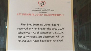 'We need the finances:' Day cares funded through Fort Valley State program shut down