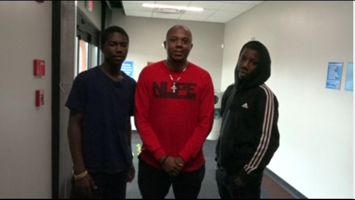 'I had no problem with taking both kids:' Macon man mentors two teen brothers