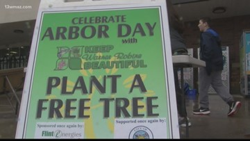 Arbor Day honored in Warner Robins