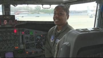 'It's a dream come true:' Meet the Georgia Air National Guard's first black female pilot to deploy