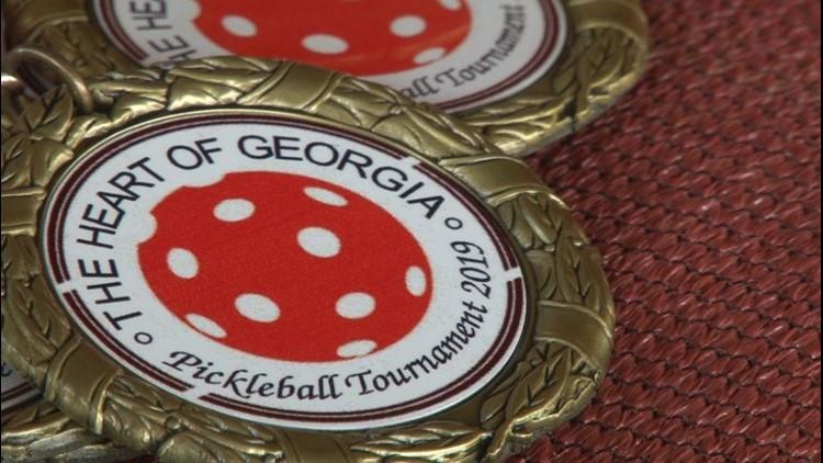 Macon hosts first Heart of Georgia Pickleball Tournament
