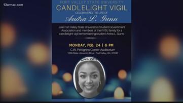 Fort Valley State University to hold vigil for Anitra Gunn