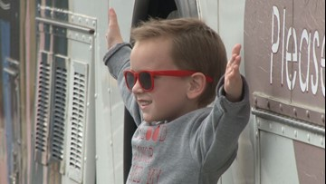 4-year-old Ryder Oliver's family organizes blood drive to raise awareness of childhood cancer