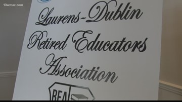 Retired educators honored in Laurens County