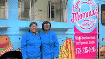 Macon women open wing and burger food truck