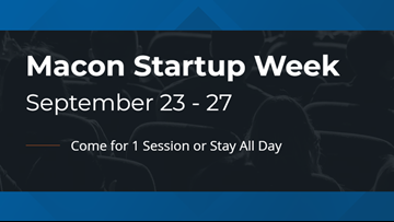 Macon Startup Week providing free workshops, tips to entrepreneurs this week