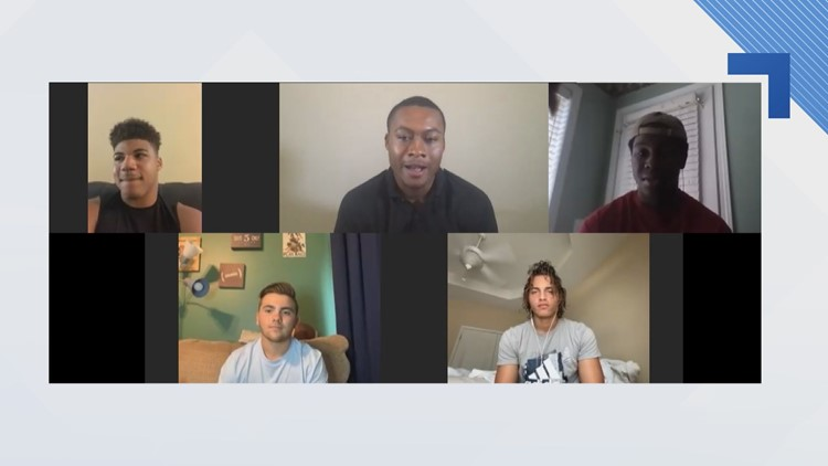 High school football players react to GHSA return date