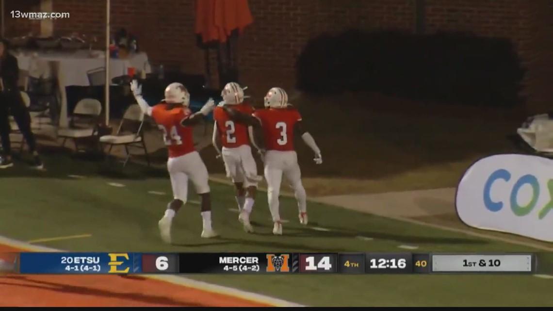 Mercer football beats ETSU for third straight ranked win