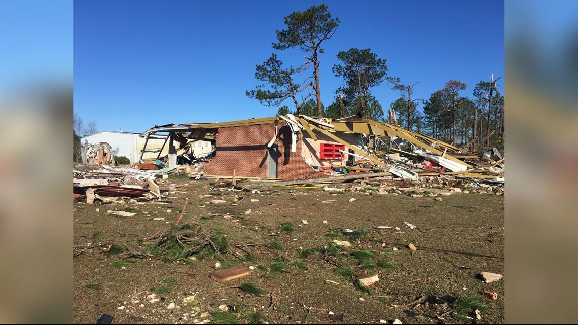 Storm Damage In Ocilla (12/17)