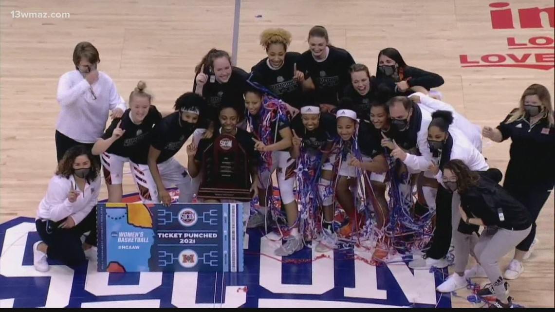 Mercer women's basketball wins Southern Conference championship, men advance to title game