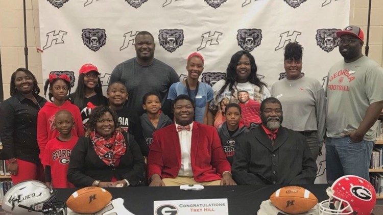 'It's my dream': UGA center, former Houston County Bear Trey Hill sets his sights on the NFL draft