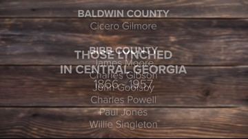 Remembering those lynched in Central Georgia: 1866-1957