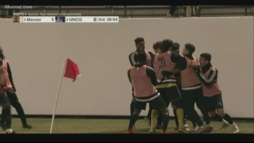 Mercer Soccer wins Southern Conference Championship