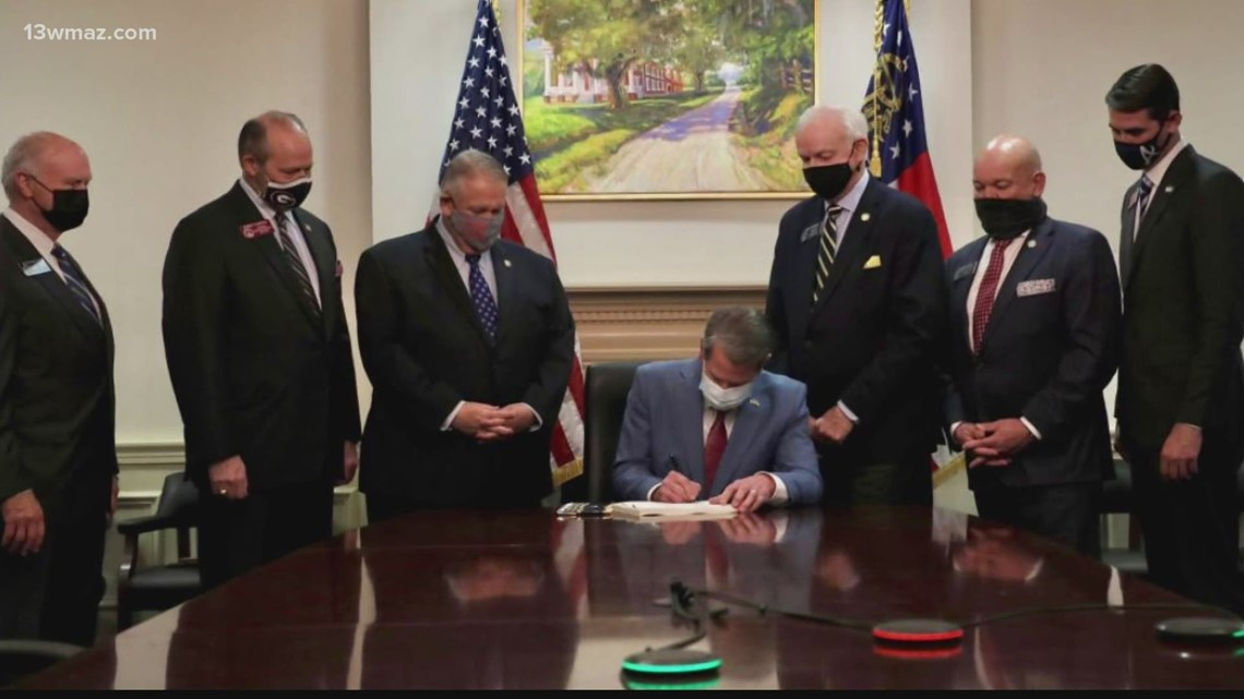 Lawsuit filed over Georgia's new election law