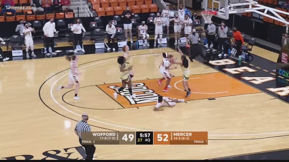 Mercer women's hoops beat Wofford in two overtimes