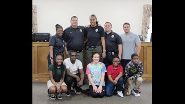 'They're longing for somebody to be in their corner:' Milledgeville Police 'Mentors in Blue' guide kids