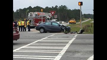 Wreck delays traffic near Baldwin County intersection