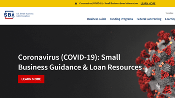 Stimulus package to help small businesses with disaster loans
