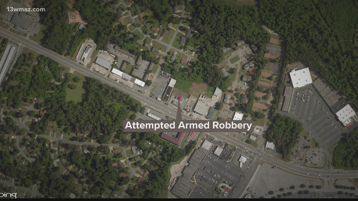 Macon teen arrested after trying to rob convenience store with toy gun