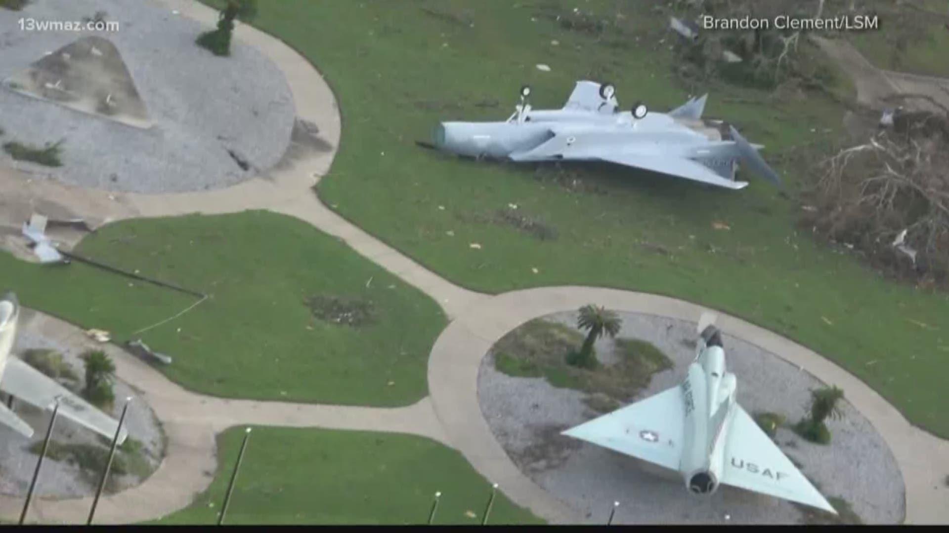 Tyndall AFB uses Hurricane Dorian as dress rehearsal