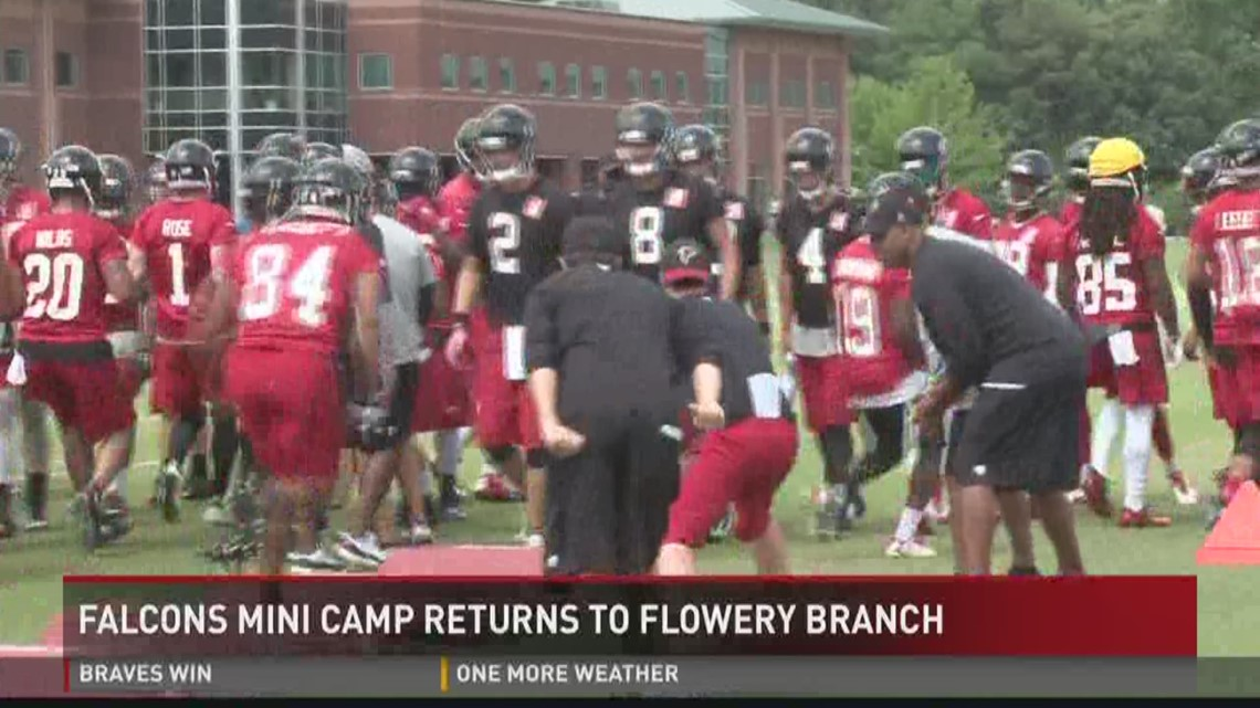 Falcons Mini Camp returns to Flowery Branch