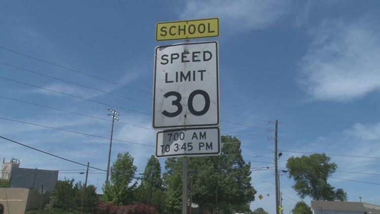 Milledgeville police want to put cameras around school zones to monitor speeding
