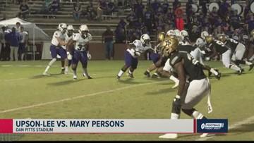 Upson-Lee vs. Mary Persons 2019 Georgia high school football highlights (Week 8)