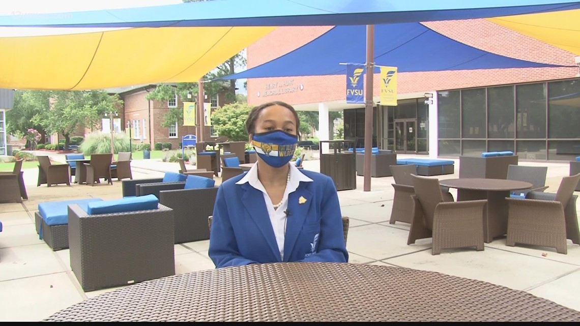 'I'm really excited for it': FVSU student selected as 2021 White House Scholar