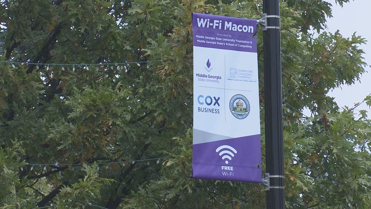 Free WiFi launches this week in downtown Macon