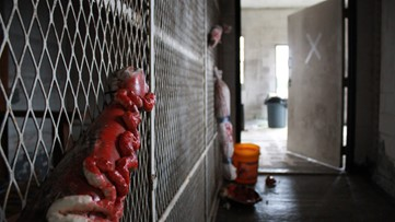 Old Putnam County prison transformed into Valentine's Day haunted house